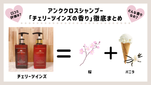 チェリーツインズの香りの紹介のアイキャッチ画像