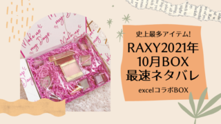 楽天RAXYとexcelのコラボボックス記事のアイキャッチ画像